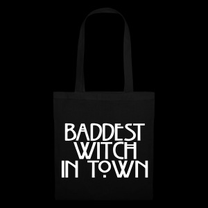 Baddest Witch Shopping Bag - Tote Bag