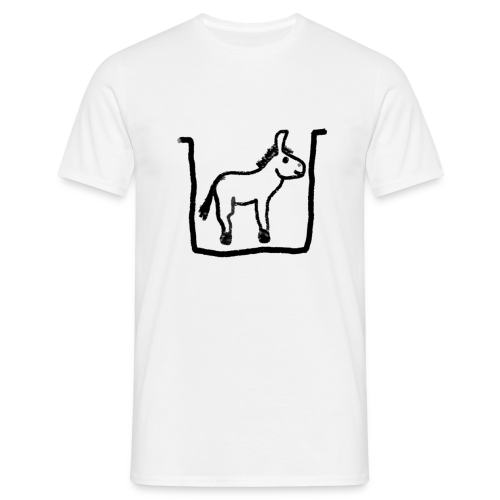 Ass hole (men) - Men's T-Shirt