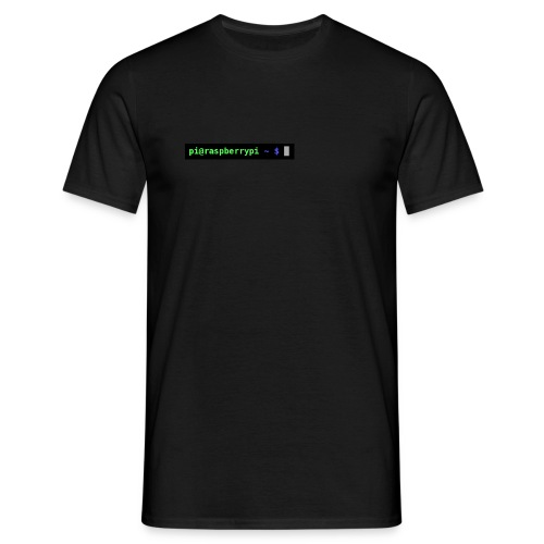 Raspberry Pi prompt - Men's T-Shirt