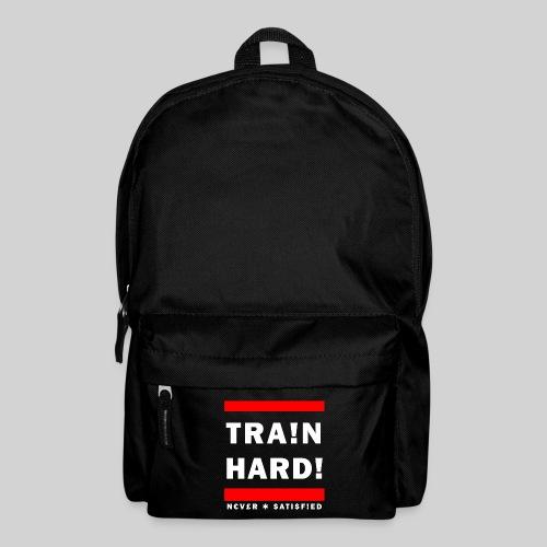 TRA!N HARD! - Premium Backpack - Backpack