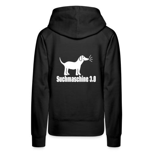 Nerd Hund Kapuzenpullover - Frauen Premium Hoodie