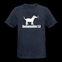 Nerd Hund Sport T-Shirt