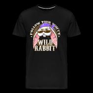 Magliette ~ Maglietta Premium da uomo ~ Wild Rabbit