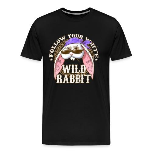 Wild Rabbit - Maglietta Premium da uomo