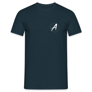 Navy Apollo T-Shirt - Men's T-Shirt