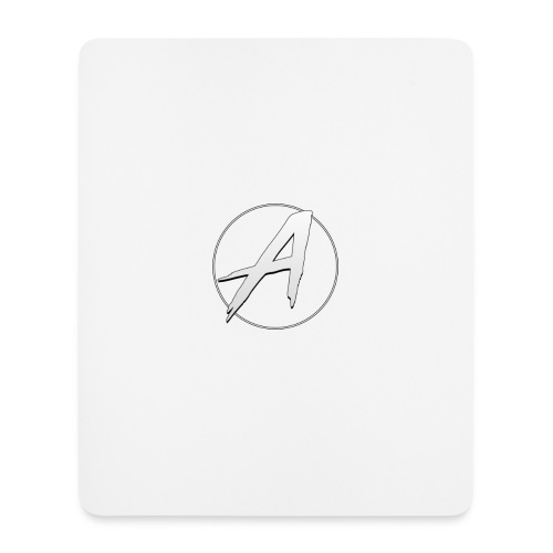 White Apollo Mousemat (Version 1) - Mouse Pad (vertical)