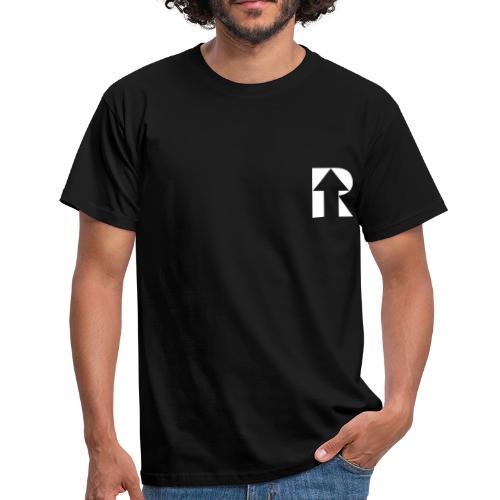 UP White Men's Tee - Men's T-Shirt