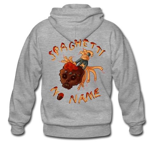 Spaghetti No Name hoodie - Men's Premium Hooded Jacket