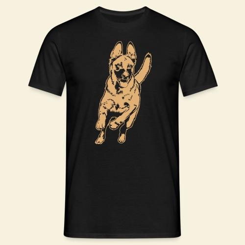 Malinois im Lauf - Männer T-Shirt