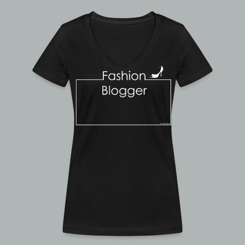 Vshirt Fashion Blogger I Frameshirts - Frauen Bio-T-Shirt mit V-Ausschnitt von Stanley & Stella