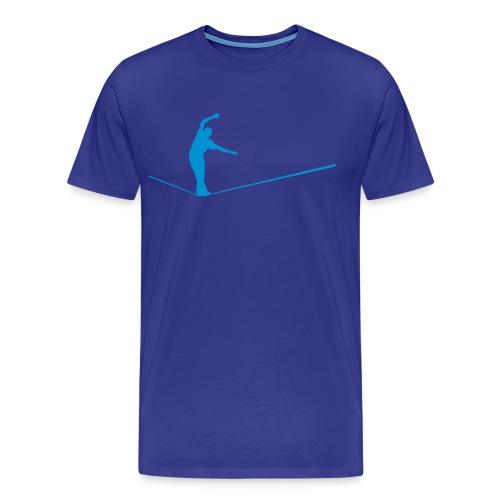 Walk the Line - Männer Premium T-Shirt