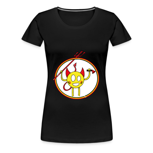 Diable supporter - T-shirt Premium Femme