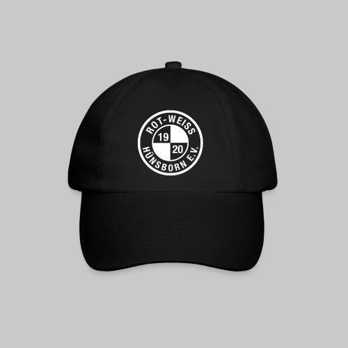 Cap mit Logo weiss - Baseballkappe