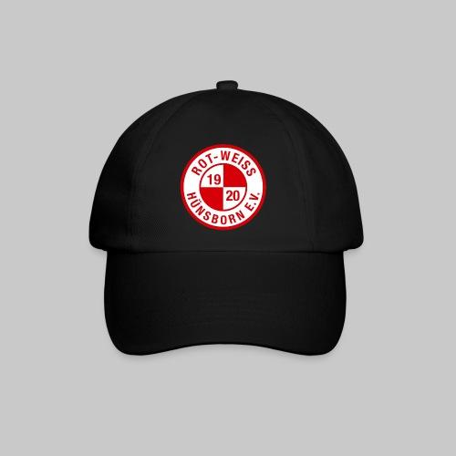 Cap mit Logo weiss/rot - Baseballkappe