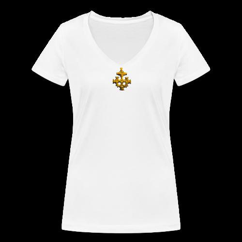 Schmuckstück - Frauen Bio-T-Shirt mit V-Ausschnitt von Stanley & Stella