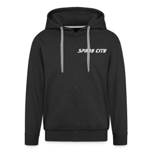 Spray City - Männer Premium Kapuzenjacke