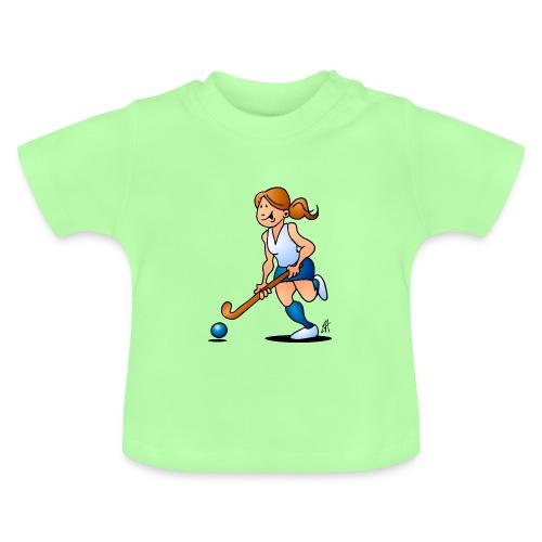 Field  hockey girl Baby Shirts  - Baby T-Shirt