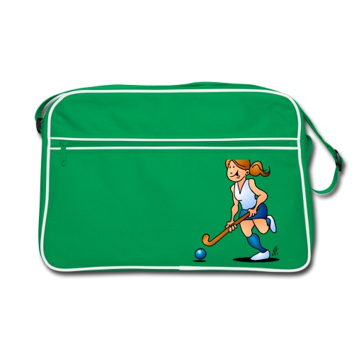 Field  hockey girl Bags & Backpacks - Retro Bag