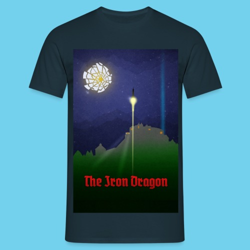 The Iron Dragon - Men's T-Shirt