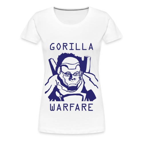 Winston Gorilla Warfare Womans Tshirt - Women's Premium T-Shirt