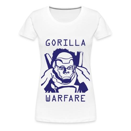 Winston Gorilla Warfare Womans Tshirt - Women's Premium T-Shirt