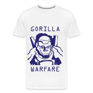 Winston Gorilla Warfare Mens Tshirt - Men's Premium T-Shirt