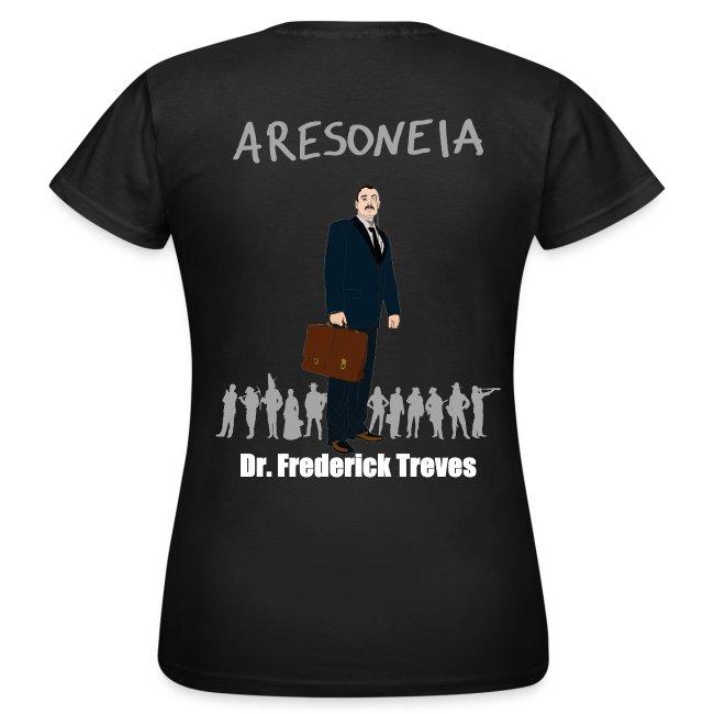 Aresoneia-Treves (Weiß) - Damen-Shirt