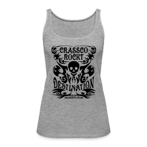 SKULL DESTINATION - Frauen Premium Tank Top