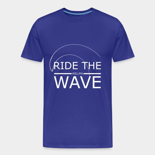 Willma Ride The Wave - Männer Premium T-Shirt