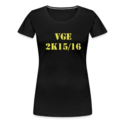 VGE 2K16 tee - female - Women's Premium T-Shirt