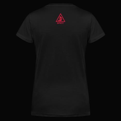 Hot Lady Shirt - Women's Organic V-Neck T-Shirt by Stanley & Stella