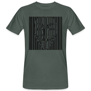 man t-shirt 13 code anonymous - Männer Bio-T-Shirt