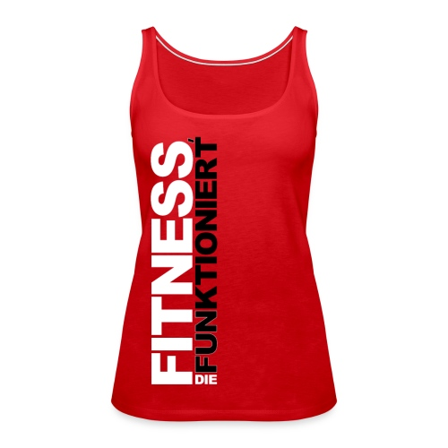 FDF Tank Top Rot - Frauen Premium Tank Top