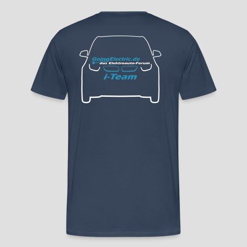 Teamshirt eRUDA GoingElectric i-Team - Männer Premium T-Shirt