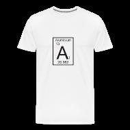T-Shirts ~ Männer Premium T-Shirt ~ Aluminium Ordnungszahl 13