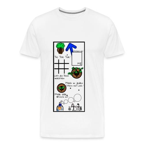 #JesTon Shirt white - men - Männer Premium T-Shirt