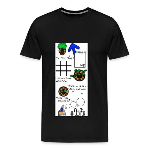 #JesTon Shirt black - men - Männer Premium T-Shirt