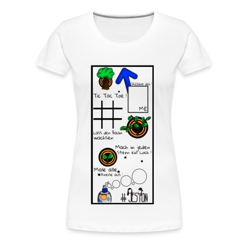 #JesTon Shirt white - women - Frauen Premium T-Shirt