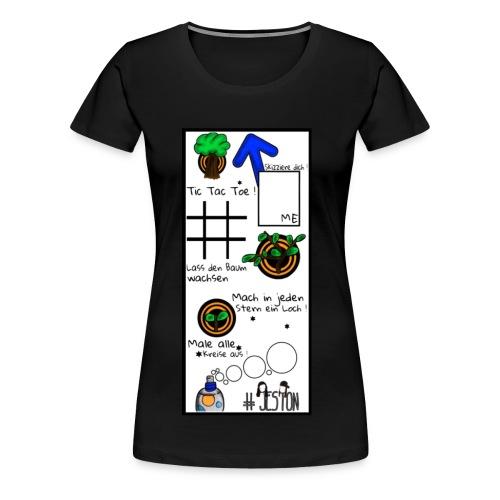 #JesTon Shirt black - women - Frauen Premium T-Shirt