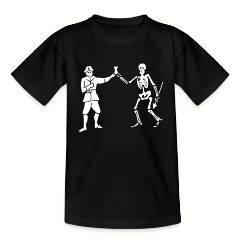 Tee shirt Enfant Roberts Bartholomew Flag v1 - T-shirt Enfant