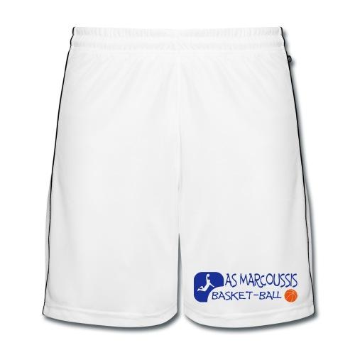 Short Blanc Homme - Short de football Homme