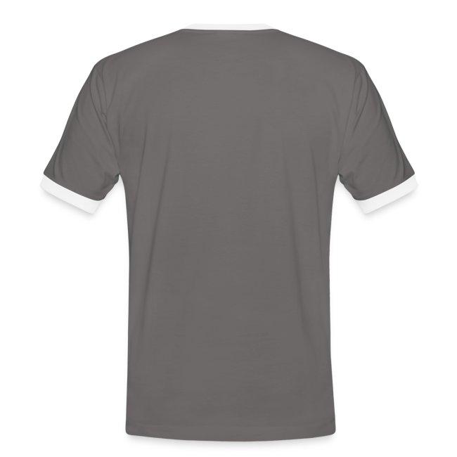 Männer Kontrast-T-Shirt (Größen: M - XXL)