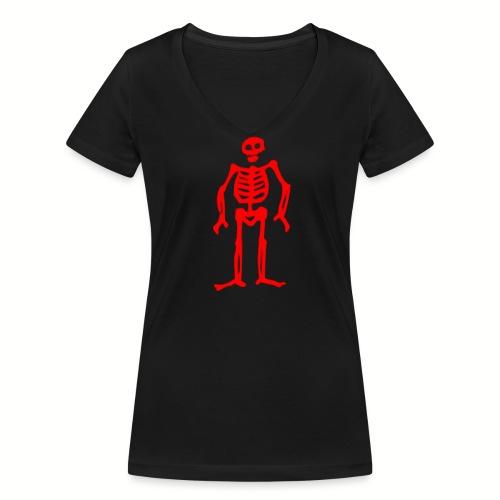 Tee shirt col V Femme Edward Low Flag - T-shirt bio col V Stanley & Stella Femme