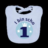 Baby Lätzchen ~ Baby Bio-Lätzchen ~ I bin scho 1