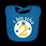 Baby Lätzchen ~ Baby Bio-Lätzchen ~ I bin scho 2