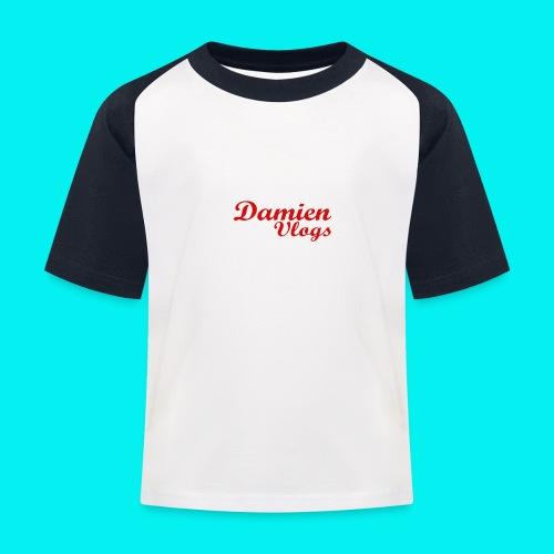 DamienVlogs Kids Shirt - Kids' Baseball T-Shirt