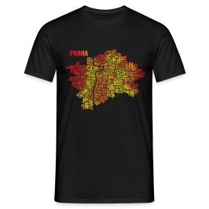 Prague Shirt Flames - Male - Männer T-Shirt
