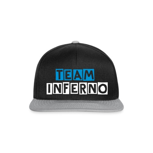 CASQUETTE TEAM INFERNO BY ME - Casquette snapback