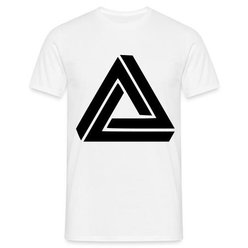 tee-shirt triangle  - T-shirt Homme
