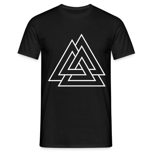 tee-shirt triple triangle  - T-shirt Homme